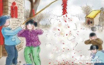 过年为什么要放鞭炮春节放鞭炮的历史由来春节放鞭炮的传说