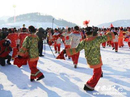 东北大秧歌表演时间东北大秧歌历史来源