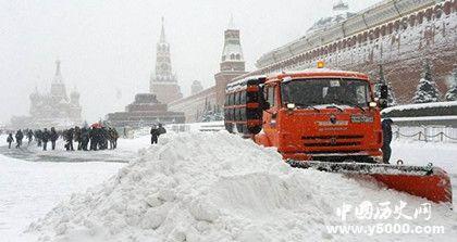 莫斯科降雪创记录莫斯科气候很冷吗